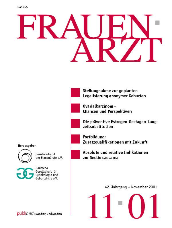 FRAUENARZT 11/01